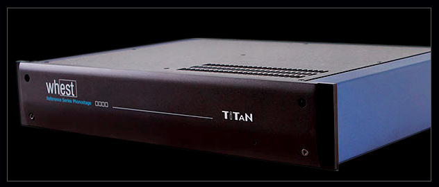 Whest Audio TITAN Pro Phono Stage