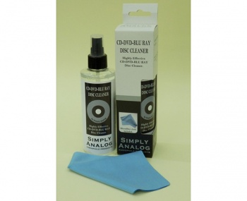 Simply Analog CD / DVD / Blu-Ray Cleaning Fluid (200ml)
