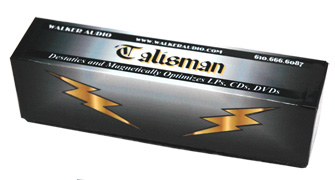 Walker Audio Talisman Magnetic Anti Static Optimizer (For LP's,CD's, DVD)